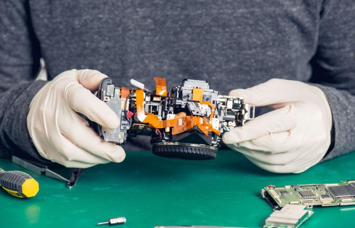DSLR repair